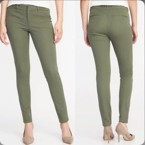 Old Navy Pixie Green Cropped Pants